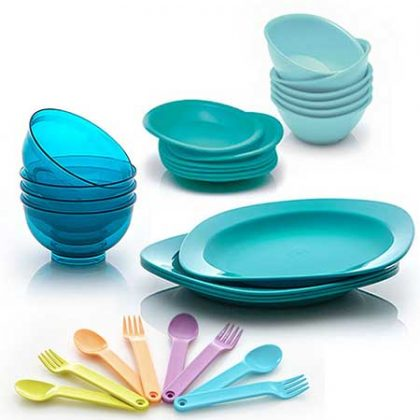 Dining Set (Plate - Bowl - Cutlery)